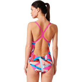 adidas Perf Swim Inf+ Badpak Dames, shock pinkbright blue/sun glow